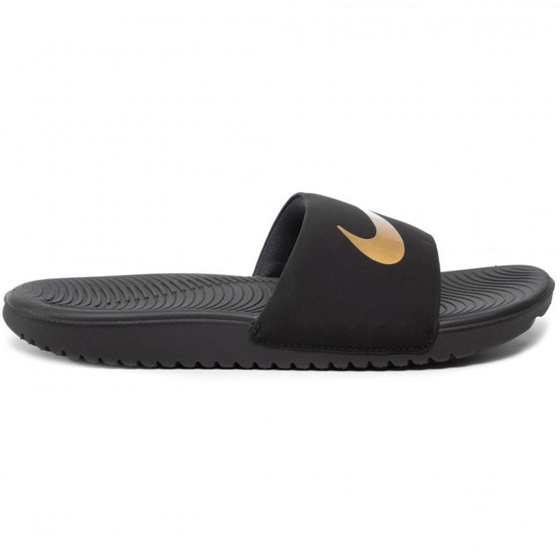 Nike Kawa Slide (GS / PS) black slippers for kids 819 352 003