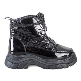 SHELOVET Snow Boots On The Slider black