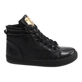 High-top Sneakers B11 Black