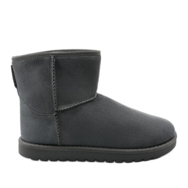 Gray insulated boots, emu Loraven type grey
