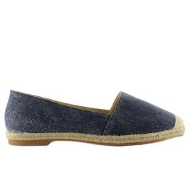 Espadrilles with linen toes JH23P D. Blue 4