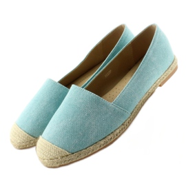 Espadrilles with linen toes JH23P L. Blue 6