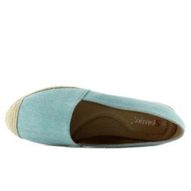 Espadrilles with linen toes JH23P L. Blue 2