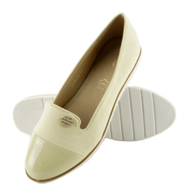 Pastel loafers lordsy 7111 yellow 2