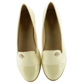 Pastel loafers lordsy 7111 yellow 1