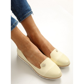 Pastel loafers lordsy 7111 yellow 4
