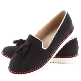 Moccasins lordsy with 9014 Black trimming 2