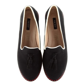 Moccasins lordsy with 9014 Black trimming 4
