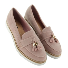 Classic ladies loafers 7101 Pink 2