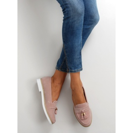 Classic ladies loafers 7101 Pink 3