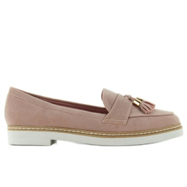 Classic ladies loafers 7101 Pink 5