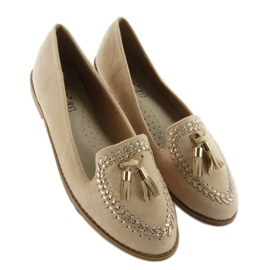 Moccasins with capped SK28P Beige noses 3