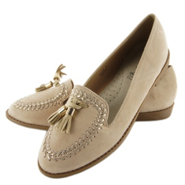 Moccasins with capped SK28P Beige noses 4