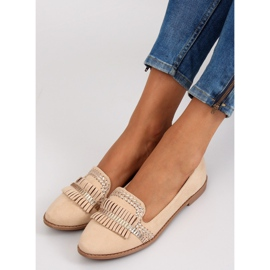 Moccasins lordsy decorated with Apricot sk33p brown 5