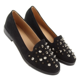 Loafers lordsy with studs mb188-111 Black 1
