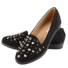 Loafers lordsy with studs mb188-111 Black 4
