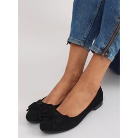 Women's ballet shoes suede t291p black 2
