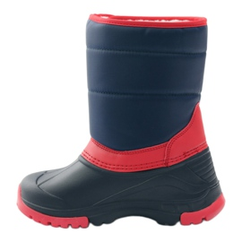 American Club American super light winter boots red navy 2
