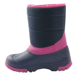 American Club Winter boots super light American boots navy pink 2
