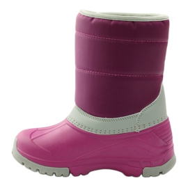 American Club Winter boots super light American boots pink grey 2