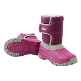 American Club Winter boots super light American boots pink grey 3