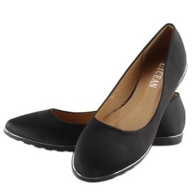 Satin black ballet A8621 black 5