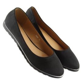 Satin black ballet A8621 black 1