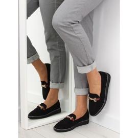 Women's loafers black S0-204 black 4