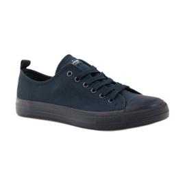 American Club Blue American sneakers. Blue sneakers navy 1