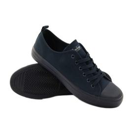 American Club Blue American sneakers. Blue sneakers navy 3
