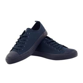 American Club Blue American sneakers. Blue sneakers navy 4