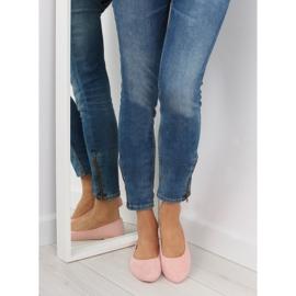 Women's ballerinas soft pink pink 3