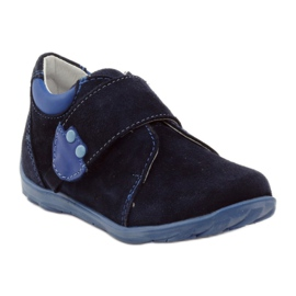 Boys' shoes with velcro Ren But 1476 navy blue 1