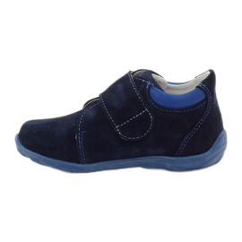 Boys' shoes with velcro Ren But 1476 navy blue 2