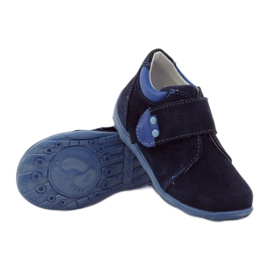 Boys' shoes with velcro Ren But 1476 navy blue 3