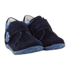 Boys' shoes with velcro Ren But 1476 navy blue 4