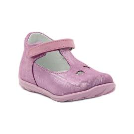 Ren But Ren shoes 1467 heather ballerinas pink 1