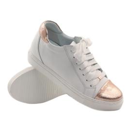 Women's sports shoes Badura white copper 2