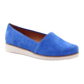 Badura women's blue shoes 1