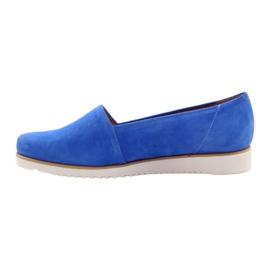 Badura women's blue shoes 2