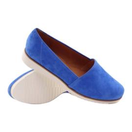 Badura women's blue shoes 3