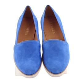 Badura women's blue shoes 4