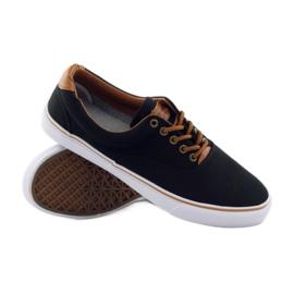 American Club Black sneakers, 18-65 brown 3