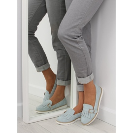 Women's loafers blue 7210 Blue 2
