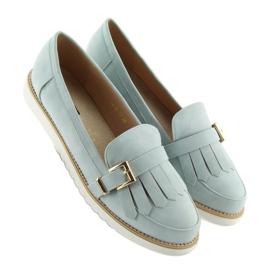 Women's loafers blue 7210 Blue 4