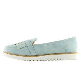 Women's loafers blue 7210 Blue 1