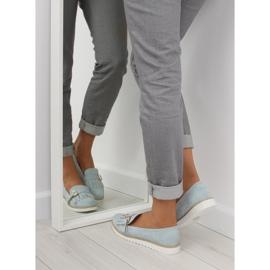Women's loafers blue 7210 Blue 3