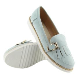 Women's loafers blue 7210 Blue 5