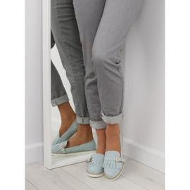 Women's loafers blue 7210 Blue 7