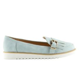 Women's loafers blue 7210 Blue 6